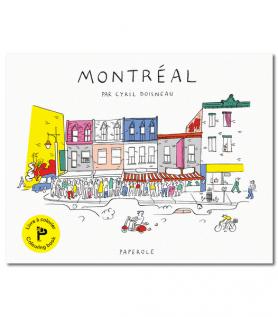 Livre à colorier – Montréal