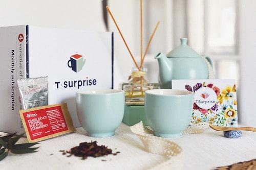 Coffret de thé – T Énergie