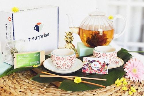 Coffret de thé T•Enrhumé