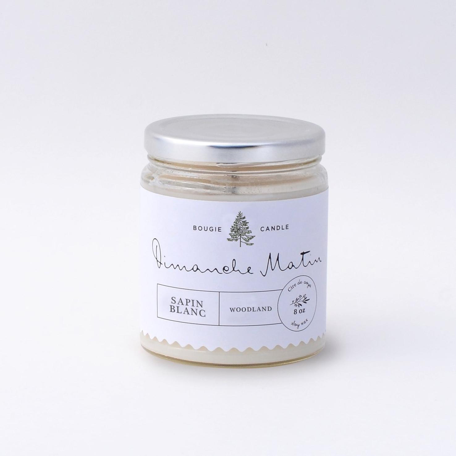 Bougie – Sapin blanc
