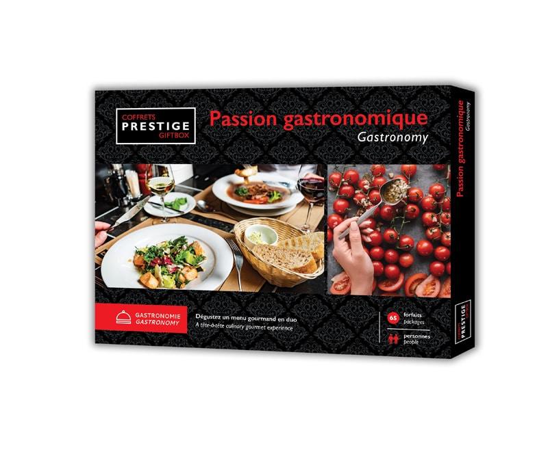 Cliquez ici pour acheter Coffrets Prestige : Passion gastronomique