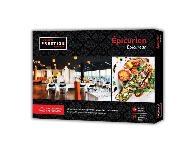Cliquez ici pour acheter Coffrets Prestige : L'épicurien