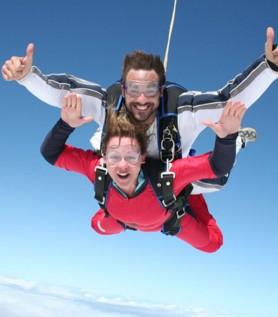 Forfait cadeau – Saut en parachute