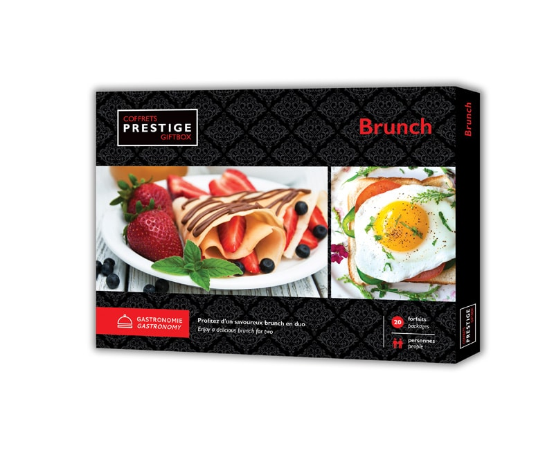 Coffrets Prestige : Brunch