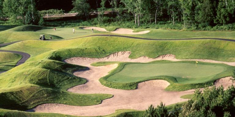 Cliquez ici pour acheter Forfait pour 2 au golf Manitou