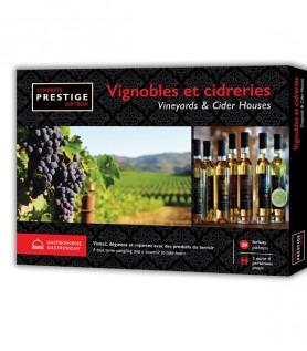 Coffrets Prestige : Vignobles et cidreries