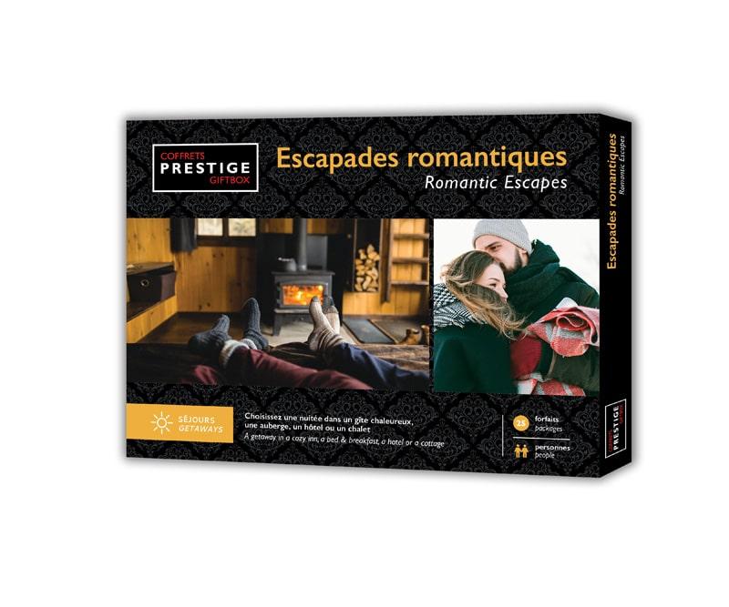 Cliquez ici pour acheter Coffrets Prestige : Escapades romantiques