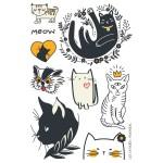 Tatouage temporaire - Le petit chat