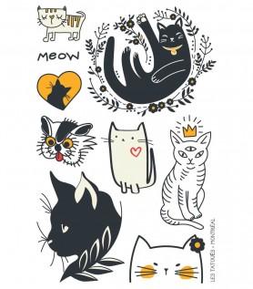 Tatouage temporaire – Le petit chat