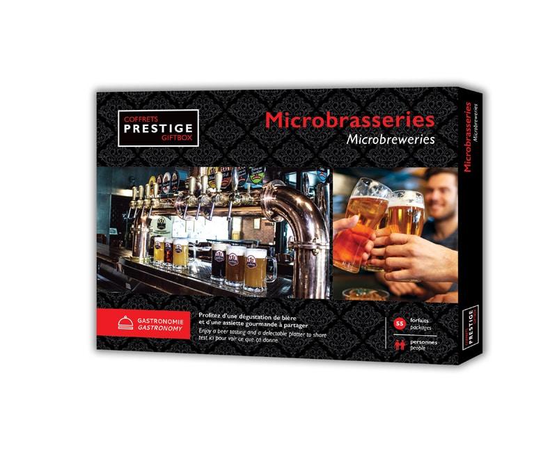 Coffrets Prestige : Microbrasseries