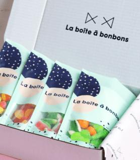 Offrez 3 mois prépayés de boîtes à bonbons!