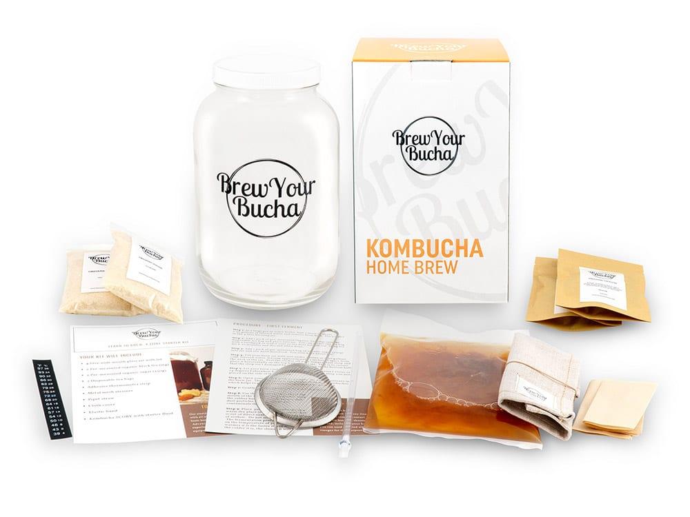 Cliquez ici pour acheter Ensemble – Faire son Kombucha maison!