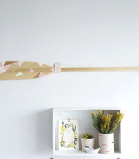 Atelier de création «DIY» : Faire une pagaie décorative