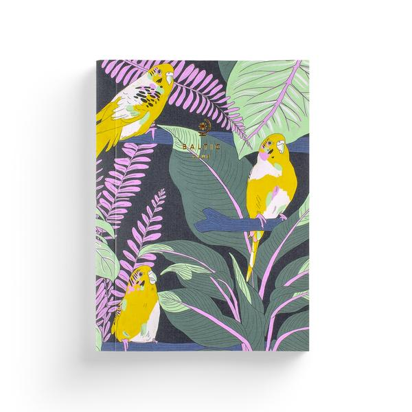 Cahier de notes – Perruches