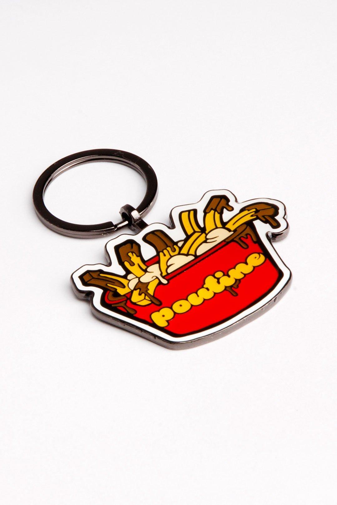 Cliquez ici pour acheter Porte-clés poutine