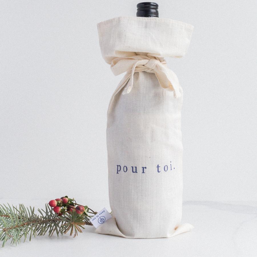 Cliquez ici pour acheter Sac à vin réutilisable
