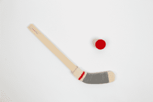 Bâton d'hockey miniature