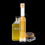 Ensemble - Huile d'olive, balsamique blanc et sel noir