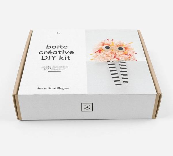 cadeau original - boîte pour créer un monstre à la maison