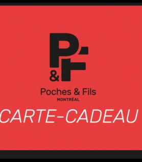 Carte-cadeau – Poches & Fils