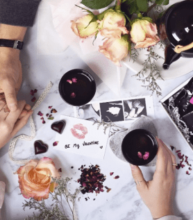 Coffret de thé – Saint-Valentin