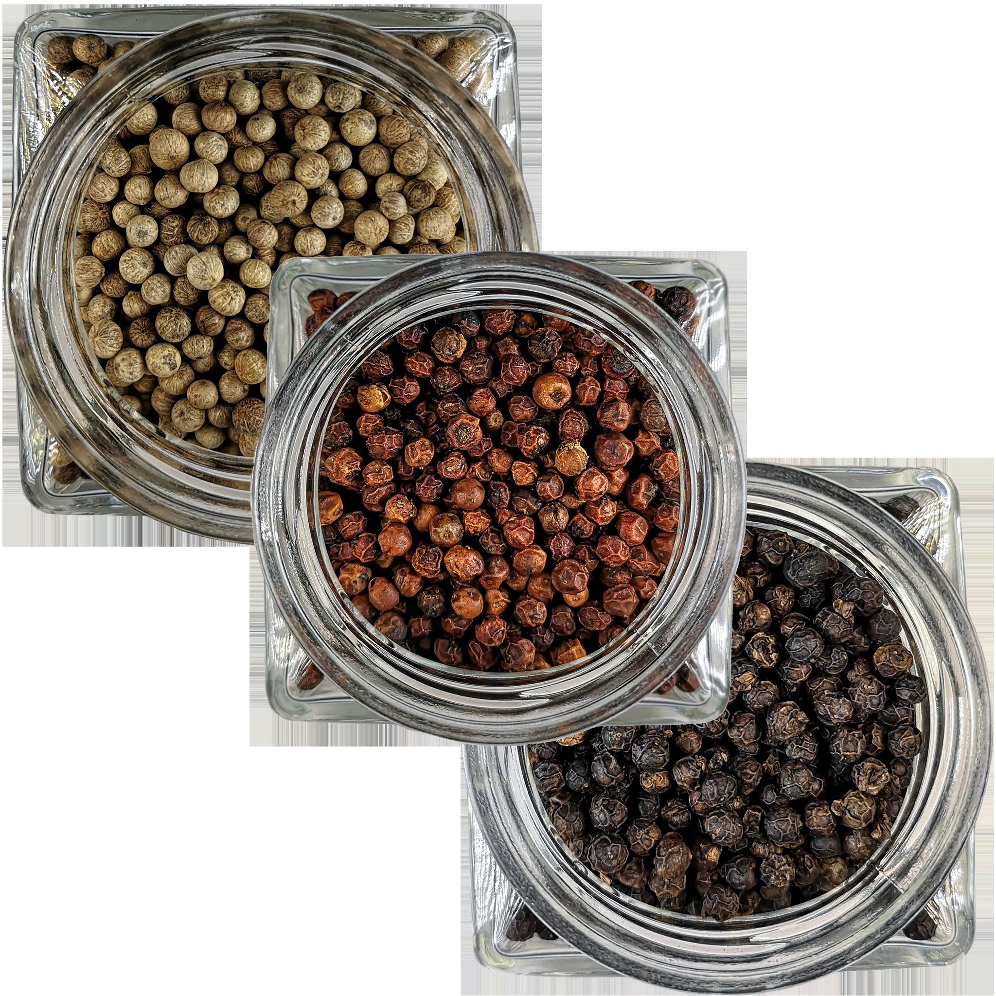 Cliquez ici pour acheter Trio de poivre de Kampot