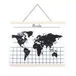 Affiche - Carte du monde