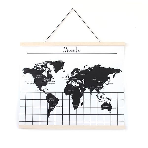 Cliquez ici pour acheter Affiche – Carte du monde