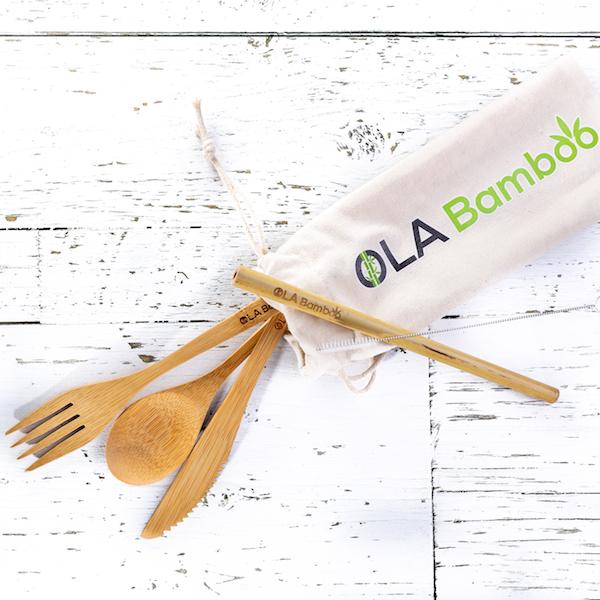 Cliquez ici pour acheter Kit zéro déchet d'OLA Bamboo