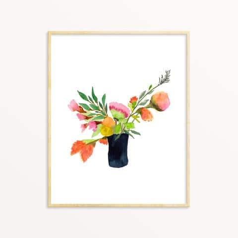 Aquarelle – Bouquet d'été