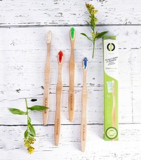 Ensemble – 4 brosses à dents OLA Bamboo