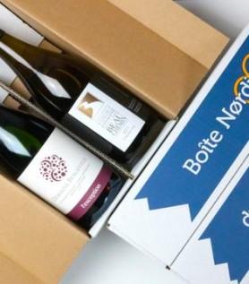 Boîte Nørdiq – 2 bouteilles de vins québécois