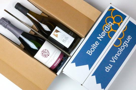 Cliquez ici pour acheter Boîte Nørdiq – 2 bouteilles de vins québécois