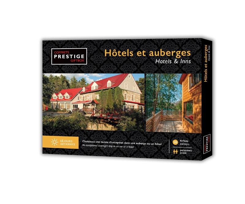 Coffrets Prestige : Hôtels et auberges