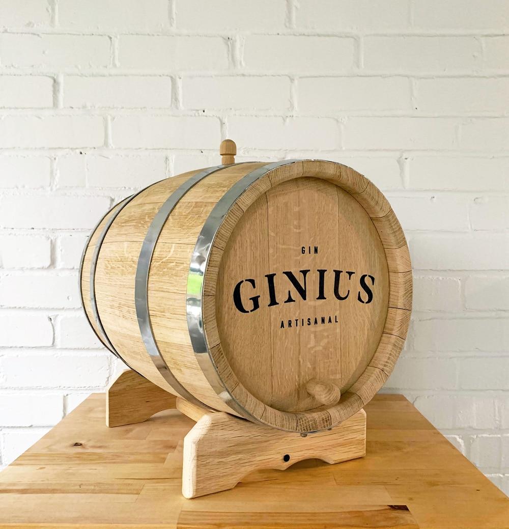 Fût de chêne pour gin – 2 Litres