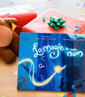 Livre personnalisé – La magie de mon nom
