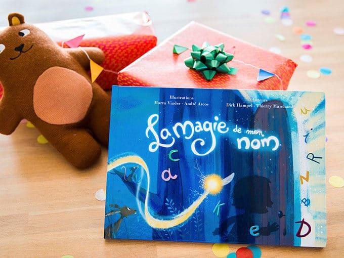 Livre Personnalise La Magie De Mon Nom Idee Cadeau Quebec