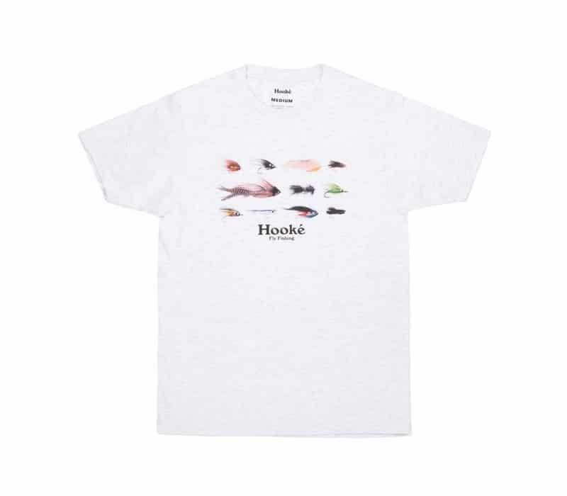 T-Shirt Hooké – Season's flies gris