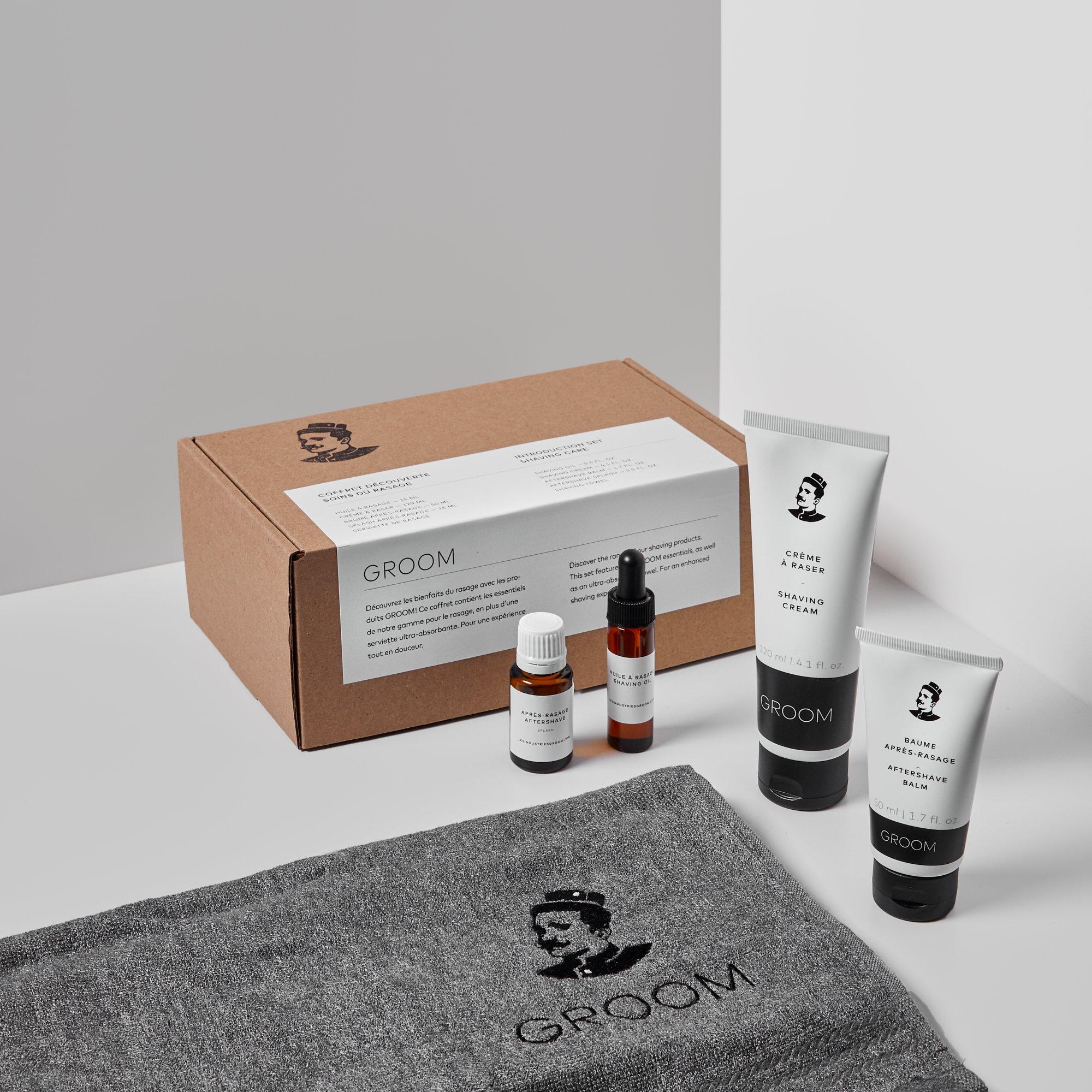 Cliquez ici pour acheter Coffret soins du rasage