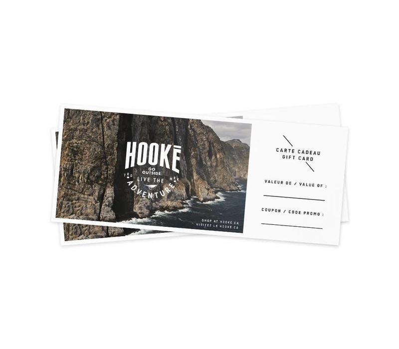 Carte-cadeau Hooké – 50$