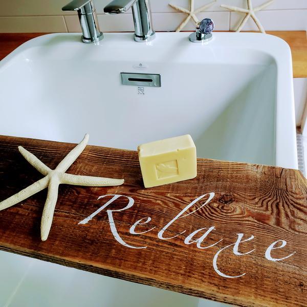 Cliquez ici pour acheter Pont de bain fait au QC – «Relaxe»