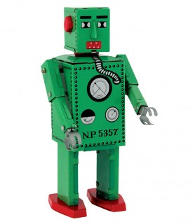 Robot en métal