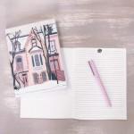 Cahier de notes - Façades de Montréal