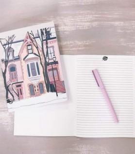 Cahier de notes – Façades de Montréal