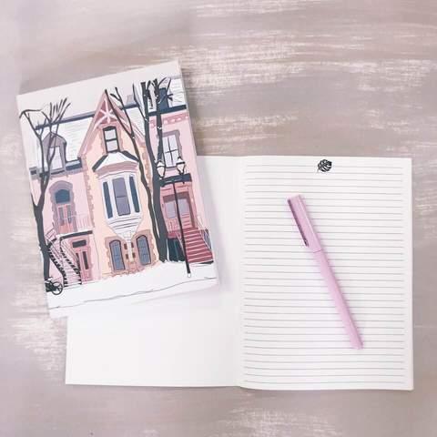 Cliquez ici pour acheter Cahier de notes – Façades de Montréal