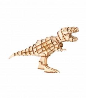 Dinosaure en bois 3D