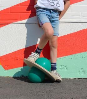Ballon sauteur – Pogo Ball vert