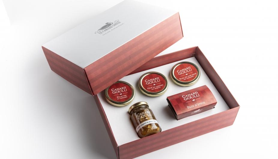 Cliquez ici pour acheter Coffret Canard Goulu – Le Gourmet