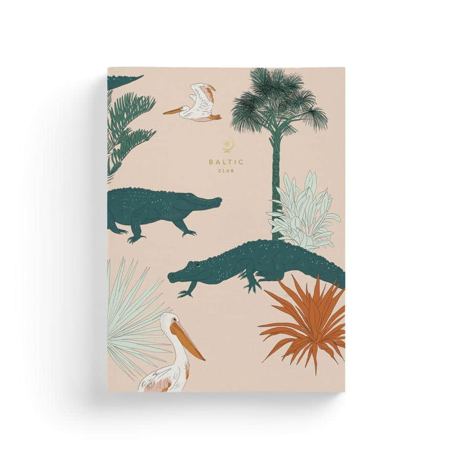 Cahier de notes – Crocodiles des Keys