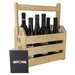 Coffret cadeau - Boîte de 6 bouteilles de vin du Québec